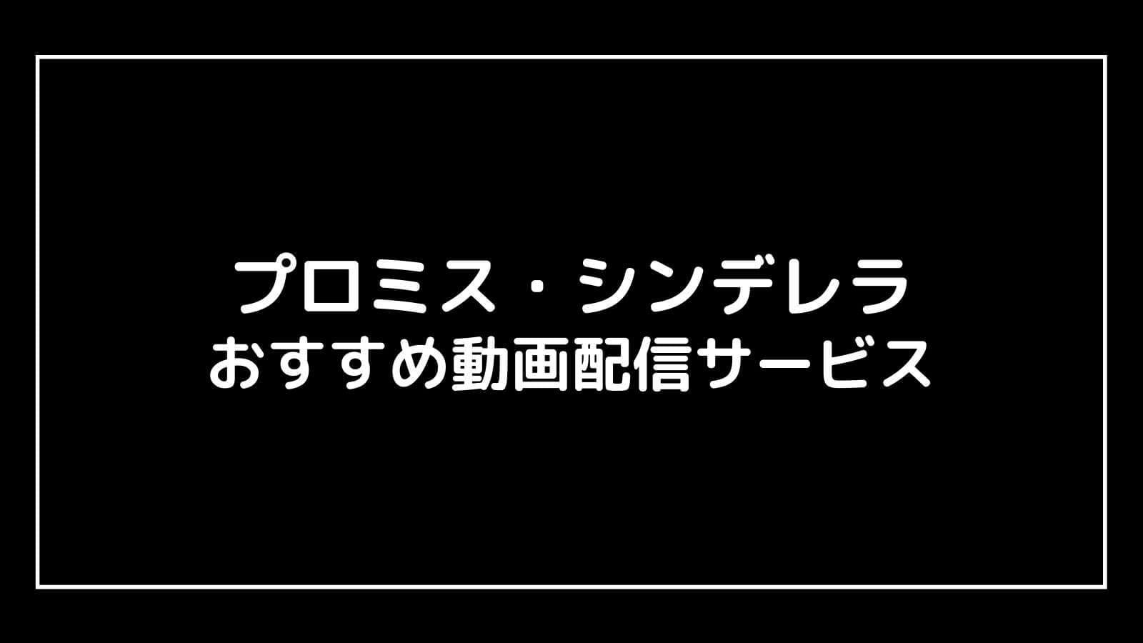 『プロミス・シンデレラ』見逃し配信を全話無料視聴できる動画配信サービス