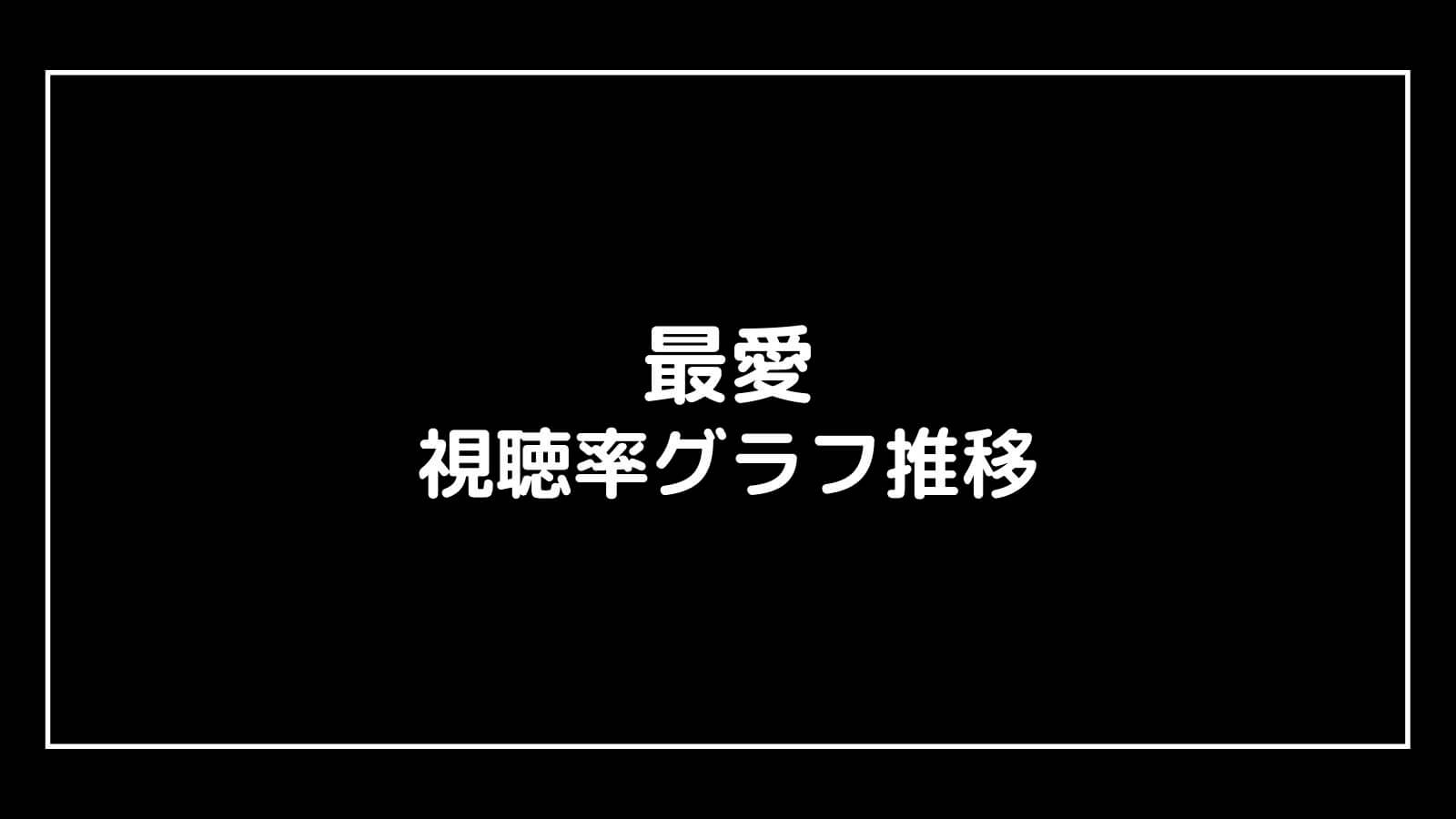 TBSドラマ『最愛』現在の視聴率速報と最終回までのグラフ推移